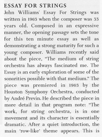 essay about classical concerto Concert essays: over 180,000 concert essays, concert term papers i thought this was an amazing concert and was my very first non-classical concert.