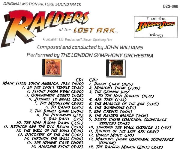 raiders of the lost ark score pdf